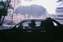 (Hem.Odd) Tags: rain pickuptruck olympusxa3 agfavista400 driver parked