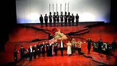 Salome (lorenzog.) Tags: ausrinestundyte salome opera operalirica show theater theatricalscenery richardstrauss musicphotography teatrocomunalebologna bologna emiliaromagna italy nikon d700 curtaincall