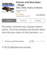 Forever and Seventeen! Pre-Order you're copy!! #AMMM #ChrisAllen #ZackMack #ZachMyers #Shinedown #JRMoore #AllenMackMyersMoore (AllenMackMyersMooreNation) Tags: allen mack myers moore ammm