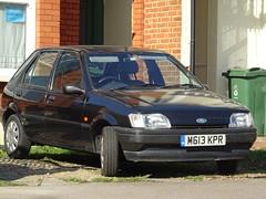 1994 Ford Fiesta 1.1 LX (Neil's classics) Tags: vehicle 1994 ford fiesta 11 lx