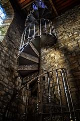 Turn turn turn (mostodol) Tags: stair escalier eglise church france french locmariaquer morbihan golfe fuji fujifilm xt20 bretagne brittany breizh bzh
