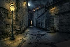 old world f. RS-2507 (P.E.T. shots) Tags: old city abandoned philadelphia night