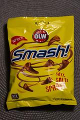 Sweet, Salt and Crunchy (Rudi Pauwels) Tags: 2019onephotoeachday smash snacks sweetsaltcrunchy