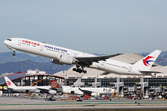 China Eastern Boeing 777-39P(ER) B-2001 (Mark Harris photography) Tags: spotting lax la canon 5d aviation boeing plane