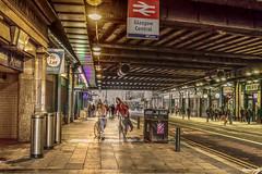 Under the Umbrella (ALANSCOTT1) Tags: glasgow argyllstreet city urban central station railway hdr