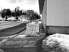 Where Else Would It Fall From? (tpeters2600) Tags: alaska anchorage iphone8 stupidity