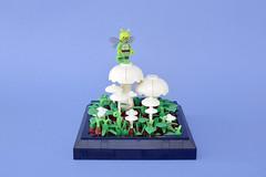 Lego insect and mushrooms - atana studio (Anthony SÉJOURNÉ) Tags: lego insect mushrooms brick afol moc creator atana studio anthony séjourné
