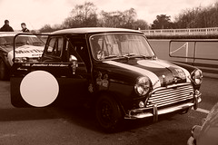 Austin Mini Cooper S 1965, HRDC Track Day, Goodwood Motor Circuit (1) (f1jherbert) Tags: sonya68 sonyalpha68 alpha68 sony alpha 68 a68 sonyilca68 sony68 sonyilca ilca68 ilca sonyslt68 sonyslt slt68 slt sonyalpha68ilca sonyilcaa68 goodwoodwestsussex goodwoodmotorcircuit westsussex goodwoodwestsussexengland hrdctrackdaygoodwoodmotorcircuit historicalracingdriversclubtrackdaygoodwoodmotorcircuit historicalracingdriversclubgoodwood historicalracingdriversclub hrdctrackday hrdcgoodwood hrdcgoodwoodmotorcircuit hrdc historical racing drivers club goodwood motor circuit west sussex brown white sepia bw brownandwhite