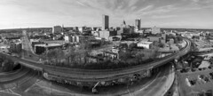 Fort Wayne Skyline (2017) (D A Baker) Tags: fortwayne indiana downtown allencounty skyline landscape cityscape buildings lincolntower pnc cathedraloftheimmaculateconception panorama clay street main columbia avenue auer artlink st pauls firestation 1 rousseau centre nickel plate railroad indianamichiganpowercenter