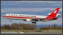 B-2179 Shanghai Airlines Cargo (Bob Garrard) Tags: b2179 shanghai airlines cargo mcdonnell douglas md11f md11 anc panc