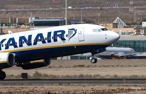 Rotacion del EI-ENV de Ryanair