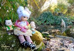 Hoshizora_60 (zeroyo yasu) Tags: bjd doll dolls poupée poupées fairyland fairy land littlefee little fee ltf luna formydoll alpaga famille family jouet jouets animaux sylavanian families jardin étang extérieur