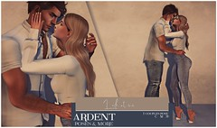 Ardent Poses - Look At Me Ad (Ardent Poses) Tags: secondlife second life sl avatar 2nd 2ndlife avi virtual vr 3d inworld poses pose ardent photography people exclusive avatars event love couple couples release new hold broderick logan ena roane enaroane bento advertisement sidewalk sale ardentposes
