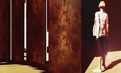 ĦÂĿØ (☺ ChimKami ☺ Rushing In Slow Motion !) Tags: grauland wiona chimkami chim dark metaverse 3d sl secondlife photography art photoshop artwork digitalart light virtual mesh shadow dream scene imagination creativity design awesome stylish magical magic fantasie tale fantasy wind sea water sim landscape exploring outside nature minimalist photogenic jimgarand architecture répétition infini géométrie effet doptique visuel blocktheme minimal exhibition strikingphotographs photographs