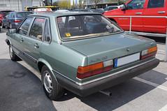 1981 Audi B2 80 GL 4T Heck (Joachim_Hofmann) Tags: auto fahrzeug audi 4ringe volkswagenkonzern audi80 stufenheck sedan