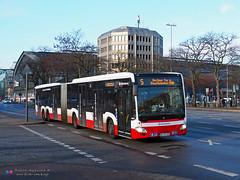Mercedes Capacity L - Hochbahn 4603 (Pi Eye) Tags: mercedes o530 citaro capacity c2 capacityl articulé gelenk hambourg hamburg hochbahn vhh hvv bus