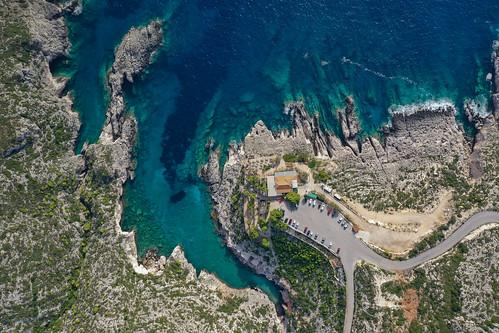 Porto Limnionas Zakynthos aerial