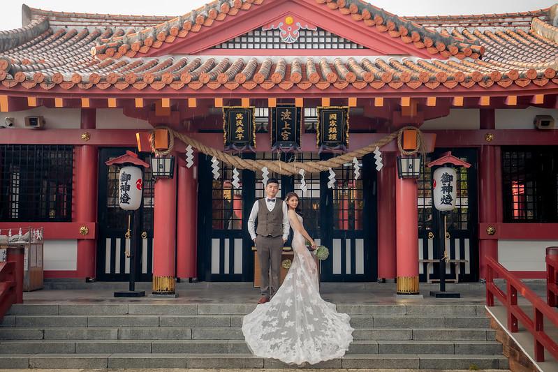 沖繩婚紗攝影,沖繩波上宮,沖繩婚紗,海島婚禮,海外婚紗