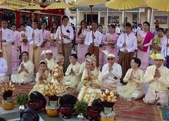 Ordination ceremony for novice Buddhist monks, Shwedagon Pagoda, Yangon (16) (Prof. Mortel) Tags: myanmar burma yangon rangoon buddhist pagoda shwedagon monks