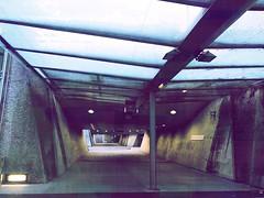 Messestadt Ost 1 (Casey Hugelfink) Tags: munich münchen riem messestadtost ubahnstation subwaystation metrostation messemünchen underpass underground ubahn subway metro empty emptiness sunday sundaymorning sonntag sonntagmorgen leer menschenleer architecture concrete beton