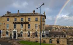 The Sun and the Rainbow (TTbeep) Tags: pub sun rainbow citylife