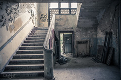 The Old Stairs... (Daniel Jost Photography) Tags: 2018 abandon abandonned allemagne arméerouge army berlin canonef2470mmf40lisusm canoneos6d casenedekrampnitz caserne cccp cold coldwar communism communiste ddr decay derelict deutschland dj east eastgermany exploration explorationurbaine fallout froide german germany guerrefroide hidden hiddenplaces krampnitz krampnitzkaserne lightroom lostplaces militaire military nva old photo photographe picture russia russian rusty soviet udssr underground urbaine urban urbanexploration urbex urbexberlin urss ussr
