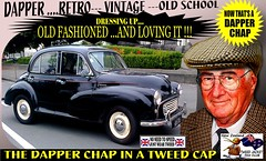 Dapper Chap In A Tweed Cap 2019  Part 7 (Save The Last Ocean) Tags: vintagecarclub vintagecar oldschool retro man fashion poster sign outdoor distinguished gentlemans cap tweed wearing car nz kiwi older oldman granpa classic auto vehicles cavalrytwilltrousers rally show club menswear scottish houndstooth uk british woven yorkshire 2019 nokia headlight art blazer plaid auckland hamilton rotorua tauranga gisbourne napier hastings wellington nelson christchurch dunedin invercargill city tweedcap tweedjacket citycouncil newplymouth whanganui wanganui rockandhop parked road street tweedjacketphotos morrisminor 1960 60s 1950s 50s sedan saloon manwearingtweedjacket menstweedjacket ride run