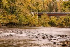 Near Beech Grove (Back Road Photography (Kevin W. Jerrell)) Tags: autumn powellriver bridge nikond7200 backroadphotography leecountyvirginia rosehillva waterways rivers