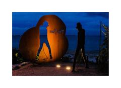 Timmendorfer Strand XXIII (Passie13(Ines van Megen-Thijssen)) Tags: deutschland timmendorferstrand germany beach strand night nightscape art timmendorf fujifilm x100f inesvanmegen inesvanmegenthijssen