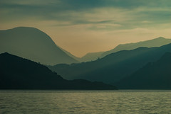 Ullswater sun down (DJNanartist) Tags: nikond200 nikon28300mm lakedistrict anartist ullswater