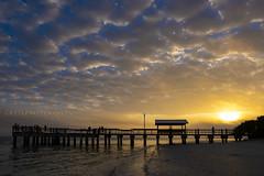 Sanibel Fishing Pier Sunrise (Clint Buhler Photographer) Tags: sanibel island pier fishing clouds sky sunrise sun rise sunset florida ocean gulf beach naples fuji fujifilm xt3 1655mm lens camera