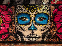 Gonza wall (tbowling1960) Tags: durham northcarolina usa wall art