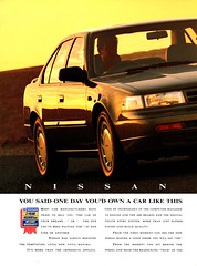 1991 Nissan Maxima J30 Page 1 Aussie Original Magazine Advertisement (Darren Marlow) Tags: 1 9 19 91 1991 j 30 j30 n nissan m maxima s sedan c car cool collectible collectors classic a automobile v vehicle jap japan japanese asia 90s