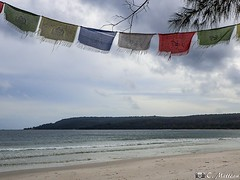 180802-27 La plage (2018 Trip) (clamato39) Tags: kohrong island île golfedethaïlande cambodge cambodia asia asie plage beach ciel sky mer sea eau water clouds nuages voyage trip olympus