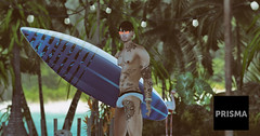 #46 (Leon Miranda) Tags: cubura storeprisma event slblog blogger beach male bento catwa sl secondlife available