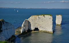 Old Harry... (Harleynik Rides Again.) Tags: oldharryrocks dorset purbeck sea blue cliff harleynikridesagain explore