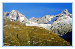 The Swiss Penine Alps From the Gornergrat - 1994 (sjb4photos) Tags: switzerland suisse schweiz peninealps epsonv500