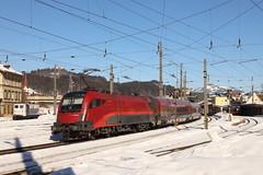 ÖBB 1116 154-6 RailJet, Kufstein (TaurusES64U4) Tags: öbb taurus 1116 es64u2 railjet