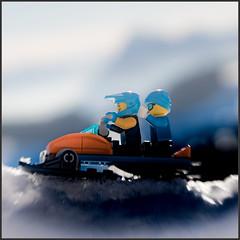 let´s go (genelabo) Tags: ninjago snowshoeing chiemgau sachrang winter snow schnee geigelstein mountain alps berge prientales bayern deutschland old ritzgraben wildbichl sun lego minifigure minifig toy skiing ski lensbaby sony 6300 quadrat spuare skido skiscooter