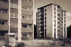 Abrisssiedlung Sandkamp in Halle/Westfalen (roemart) Tags: abriss alt häuser lost place halle westfalen sandkamp