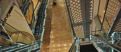 20190302_DP0Q6573-21x9 (NAMARA EXPRESS) Tags: travel escalator construction structure reflection mirror amazing daytime spring indoor color marion yurakucho tokyo japan spp spp661 foveon x3 sigma dp0 quattro wide ultrawide superwide namaraexp