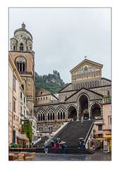 Cathedral of St. Andrew the Apostle, Amalfi (mcgin's dad) Tags: amalfi italy church cathedral canon700d