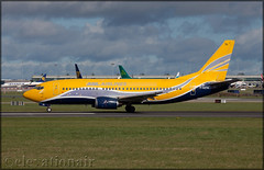 F-GZTA Boeing 737-33V(QC) ASL Airlines France (elevationair ✈) Tags: dublin airport dublinairport dub eidw sun sunny sunshine avgeek aviation airplane plane runway winter boeing 737 733 qc boeing73733vqc asl airlines aslairlinesfrance frenchpost fgzta