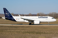 D-AINO (Andras Regos) Tags: aviation aircraft plane fly airport bud lhbp spotter spotting taxi lufthansa airbus a320 a320neo