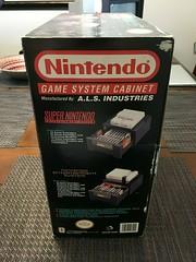 Super Nintendo Game System Cabinet ES-3000 ALS_03 (gamescanner) Tags: super nintendo game system cabinet es3000 als industries model storage case snes nes official licensed product