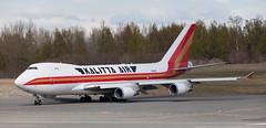 B747 | N402KZ | ANC | 20150510 (Wally.H) Tags: boeing 747 boeing747 b747 n402kz kalittaair cargo anc panc anchorage airport