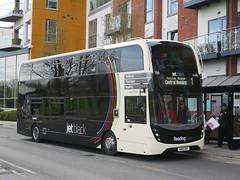 SN16OHF (BigEars Bus Photos) Tags: newbury newburyanddistrict readingbuses alexanderdennis adl enviro400mmc 788 sn16ohf jetblack