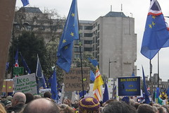 Put it to the People March (lazy south's travels) Tags: london england english britain british uk protest march eu brexit capital city banner flag