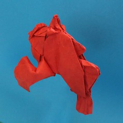 Frogfish (Anicé Claudéon) Tags: frogfish fish origami pliage