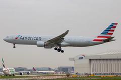 American Airlines - Airbus A330-323X N277AY @ London Heathrow (Shaun Grist) Tags: n277ay aa american americanairlines airport airbus a330 a330323x shaungrist lhr egll london londonheathrow heathrow aircraft aviation aeroplanes airline avgeek landing 27l